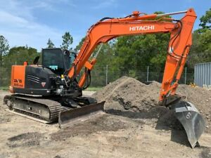 Hitachi ZX85USB-5 Excavator Helensvale Gold Coast North Preview