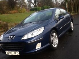 2007 PEUGEOT 407 2.0 HDI SE IN SHOWROOM CONDITION WITH 12 MONTHS WARRANTY INCLUDED