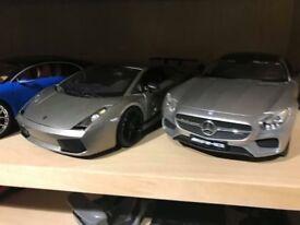 1.18 lambo and Mercedes