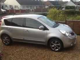 Nissan Note N tec dci 1461 2011 £20 tax, sat nav , Bluetooth, cruise control
