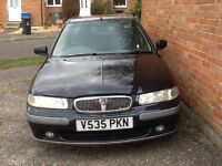 Very reliable rover . Would keep but given newer car . Has few scratches on body .