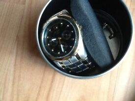 Men's watch RELIC unwanted gift new (still in box) with lots of features comes with instructions £40