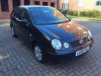 2002 Volkswagen Polo 1.4 Automatic Black 62 thousand miles full mot