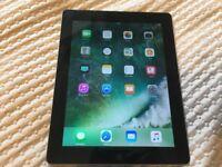 iPad 4 Black 64GB WiFi in MINT CONDITION