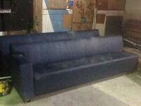 Pub sofas faux leather