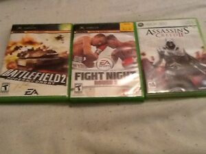 Xbox original and Xbox 360 games