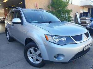 2008 Mitsubishi Outlander VR Auto SUV ONE OWNER LOGBOOK 2 KEYS Roselands Canterbury Area Preview