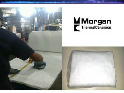 Ceramic Fiber Blanket 2300f 6 Morgan Thermal High Temp Insulation 1x24x24