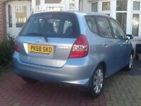 HONDA JAZZ AUTOMATIC. 5 DOOR +Full HPI CLEAR REPORT+FULL SERVICE HISTORY +LOW MILEAGES