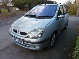 RENAULT SCENIC - 1.8 PETROL£600 - QUICK SALE, 1.8 - LONG MOT ,LOW MILES