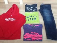 Hollister & Superdry Bundle