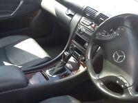Mercedes c class gold