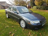 Volvo S80 2.4 D5 Automatic in metallic grey. Overall clean condition, with FSH