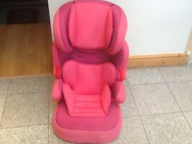 Full highback group 2 3 car booster seat 15kg to 36kg(4yrs to 12yrs)-washedandnd cleaned-2available