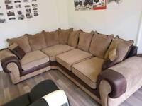 Corner sofa like new condition