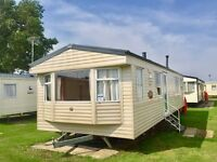 8 berth static caravan perfect for sub-letting for sale on Norfolk coast