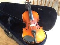 Violin for beginners with case
