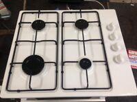white currys 4 burner gas hob
