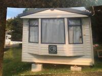 Swift Burgundy 28' x 10' 2 bedroom Caravan - Newquay, Cornwall