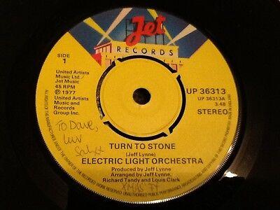 ELECTRIC LIGHT ORCHESTRA . E.L.O. TURN TO STONE . 1977