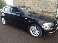 BMW 118D ES ,2008,..FSH...MOTD,6 SPEED