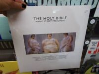 Brand new and sealed Manic Street Preachers – The Holy Bible, on vinyl