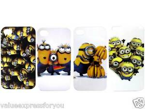 DISNEY-DESPICABLE-ME-MINIONS-Mobile-Phone-Hard-Case-Cover-iPhone-4-4S-5