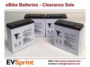 CLEARANCE SALE: 48V 20AH Sealed Lead Acid (SLA) eBike battery/ Electric Bike Batteries (GEL-AGM Hybrid)