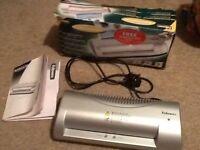 fellowes A4 electric laminator