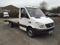 2007 Mercedes Sprinter 311 cdi Recovery truck, alloy ramp