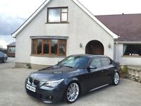 2008 BMW 530d M Sport LCI **MANUAL**RARE PLATINUM GREY**