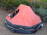 Real Avon 4 man life raft.