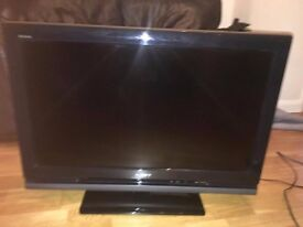 "Sony Bravia KDL-32V4000 32"" inch TV with stand and remote"
