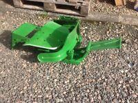 Old John Deere Tractor Seat - VGC