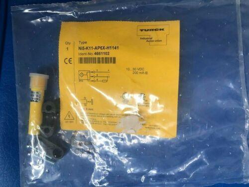 TURCK SENSOR PROXIMITY SENSOR, SMOOTH PLASTIC BARREL NI5-K11-AP6X-H1141