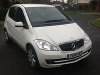 Mercedes A class A160 2011 61 reg fsh low miles 1 lady owner