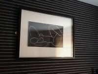 BLACK DEEP FRAMED DRAWING