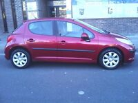 56 PLATE PEUGEOT AND 1.4 PETROL CHEAP TAX AND LOW INSURANCE, WITH LONG MOT, DRIVE PERFECT,