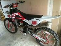 Husky tc250 road registered 2012