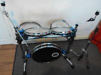 Traps Drums A400nc full hardware with bags