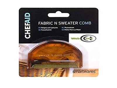 Handy Chef Aid Fabric And Sweater Comb Small Compact Clean Fluff Fuzz Fluff