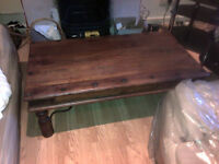 Wooden solid Coffee Table & Tv Stand