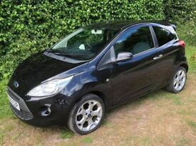 2010 Ford ka 1.2 titanium black low mileage