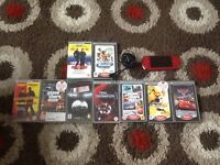 Psp limited edition red excellent condition