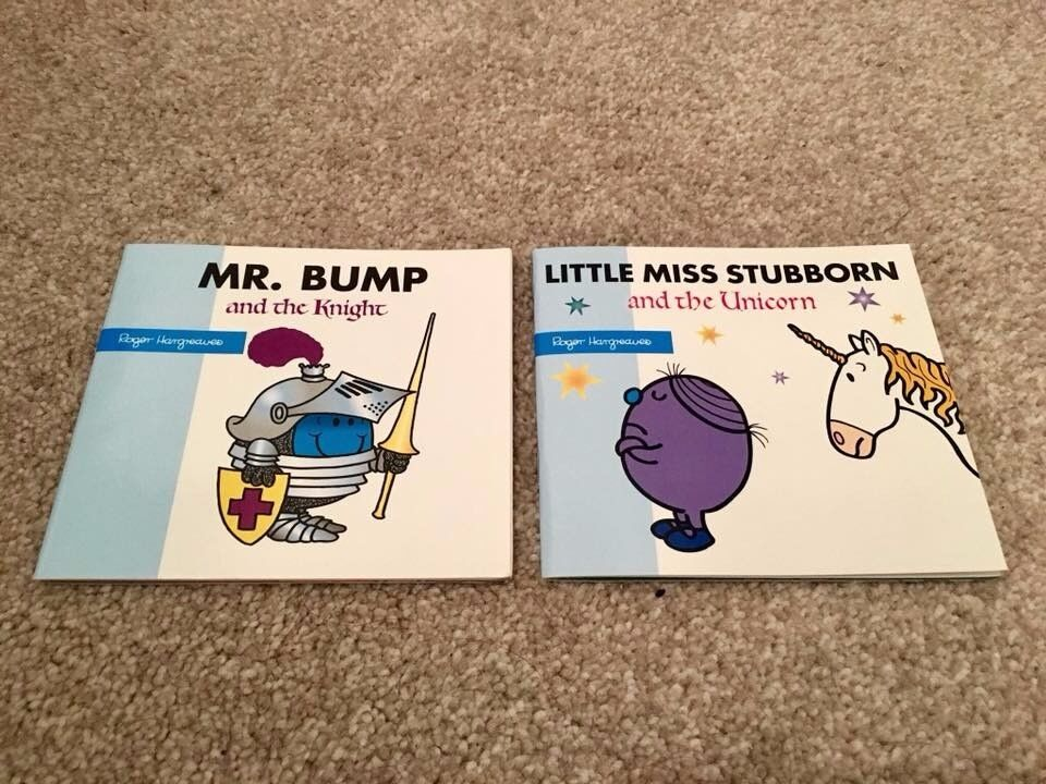 Mr Men and Little Miss Book Pair
