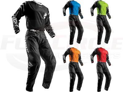 Thor MX Sector Jersey & Pant Combo Set ATV BMX Motocross Dirt Bike Riding Gear (Dirt Bike Riding Gear)