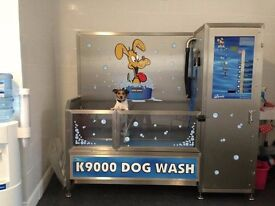 K9000 Self Service Dog Wash for pet stores, grooming salons, car washes & shops