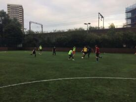 Friendly football TONIGHT at MILE END leisure centre. 2 players needed!