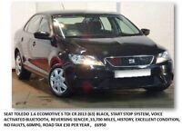 Seat Toledo 1.6 Ecomotive S TDI CR 2013 (63) Black