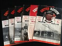 Manchester United Vintage Programmes of the 60's